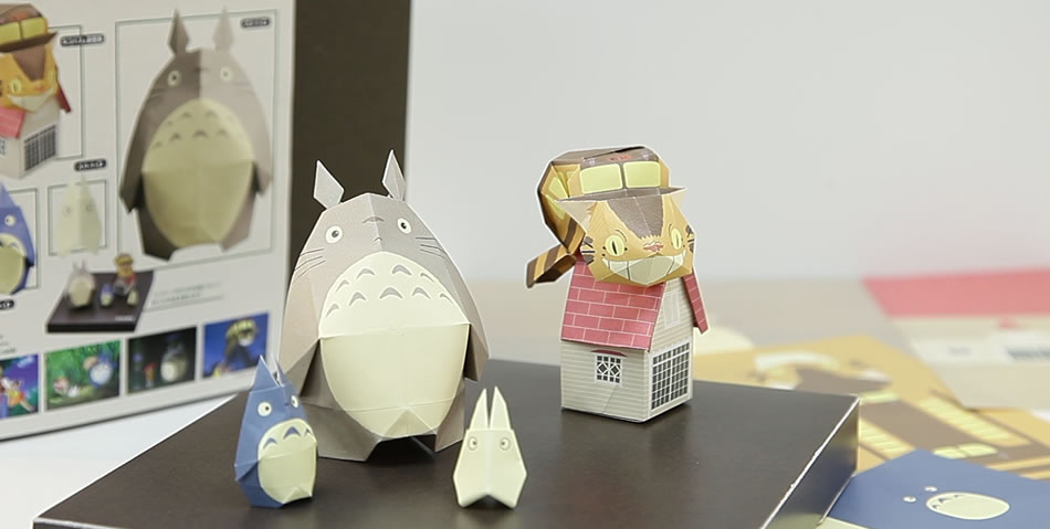 クリスマス 折り紙 折り紙 トトロ : kyouzai-j.com
